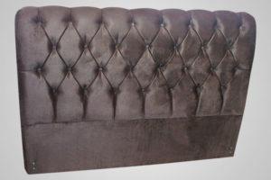 Cabeceria Casal Marrom 138 cm de Largura - Modelo Lavínia