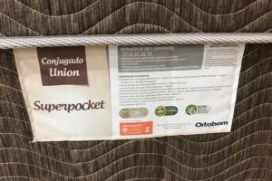 Cama Box Casal Conjugada Ortobom – Modelo Union Superpocket