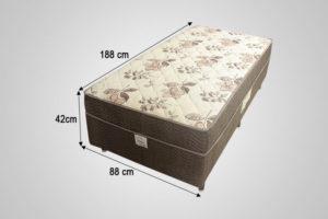 Cama Box Solterio Conjugada Ortobom – Modelo Dream Superpocket